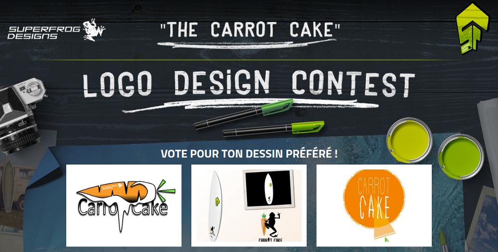Mur de dessins - Concours Carrot Cake