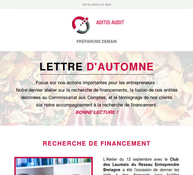 Newsletter Aditis Audit